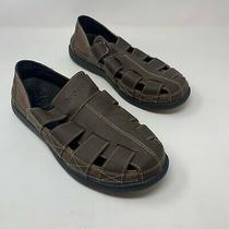 Crocs Men's Santa Cruz Fisherman Brown Sandal Shoes Size 10 Photo