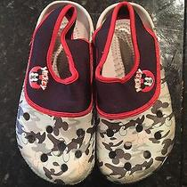 Crocs Mickey Mouse Style Size 3m 5w Euc Disney  Photo