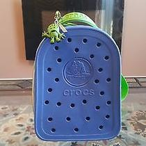 Crocs - Mini Back Pack - Blue and Green - Like New Free Shipping Photo