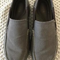 Crocs Santa Cruz 2 Luxe Brown Mens Sandals Comfort Slip on Loafers M Us Size 11 Photo