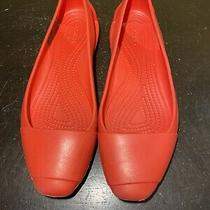 Crocs Sienna Flats 202811 Women Size 7 Photo