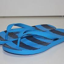 Crocs Size J2 Blue Black Sandals Boys Girls Kids Photo
