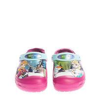 Crocs Slingback Clog Sandals Eu 32-33 Uk 1 Us 1 Elsa Print Round Toe Photo