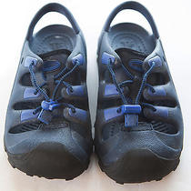 Crocs Sport Water Shoes Navy Blue J 2/4 Youth Photo