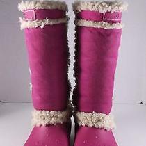 Crocs Women's Fuchsia Boots Size 7 Photo