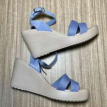 Crocs Womens Wedge Sandal. New/no Box Size 8 Photo