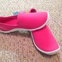 Crocs Womens Duet Busy Day Natural Skimmer W 8 Hot Pink/white Photo