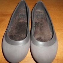 Crocs Womens Mammoth Brown Fleece Lined Flats Size 6 Photo