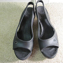 Crocs--Womens--Wedges / Platform / Heels / Lifts / Rubber Shoes----Size 9 W-Nice Photo