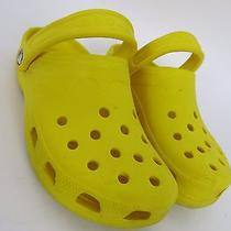 Crocs Yellow 6-7  Photo