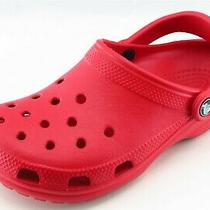 Crocs Youth Boys Shoes Size 5 M Red Synthetic Mules  Photo