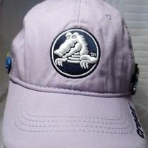 Crocs Youth Lavendar Crocodile Baseball Cap Hat Adjst W/ Figurines S 100% Cotton Photo