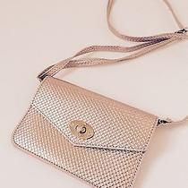Crossbody Mini Bag Purchased at Kitson Blush Rose Gold Tone Photo