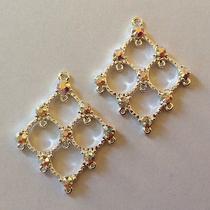 Crystal Chandelier Earrings - 35x33mm Gorgeous Bridal Chandelier Earring Fs Photo