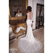 Crystal Desing Escada Wedding Dress Photo