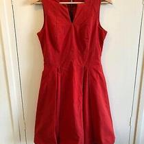 Cue  Orange/red Dress Size 8 Euc  Express Tracked Post Included  Photo