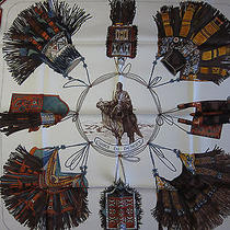 Cuirs Du Desert Hermes Scarf (New-Tags) Photo