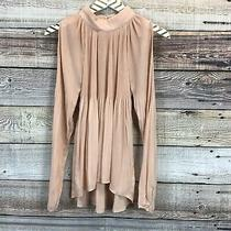 Current Air Xs Blush Long Sleeve Blouse 0837 Photo