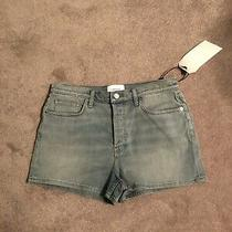 Current Elliott Boyfriend Shorts Distressed Denim Jean Sz 32 New W/tags Photo