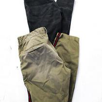 Current/elliott J Brand  Womens Skinny Jeans Green Black Pearl Size 26 Lot 2 Photo