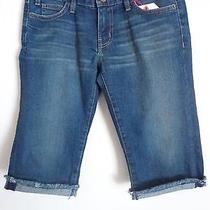 Current Elliott the Bike  Shorts Blue Jeans Size 27 New Photo