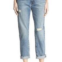 Current/elliott the Fling Triumph Destroy Wash Jeans Women's Size 31 Euc Photo
