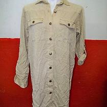 Current / Elliott the Lily Shirt Dress Khaki Chino New Other Photo