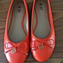 Cushion Walk by Avon Orange  Shoes Ballet Flats Size 8 Photo