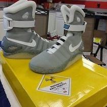Custom Air Mag Back to Future Shoes Photo