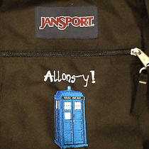 Custom Embroidered Doctor Who Jansport Big Student Backpack Photo