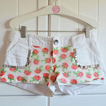 Custom Floral Studded Womans Shorts Photo