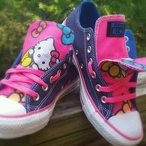 Custom Hello Kitty Converse Photo