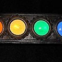 Custom Leather Wrist Cuff - Acrylic Prism Photo
