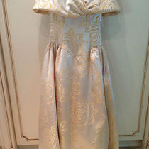 Custom Made Mother of the Bride Gown in Champagne Size 10 Photo