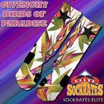 Custom Nike Elite Socks Birds of Paradise Givenchy Photo