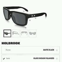 Custom Oakley Holbrook Polarized Sunglasses  Photo