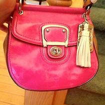 Custom Pink Coach Bag Over the Shoulder or Handbag  Photo