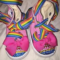 Custom Pink Converse Toddler Size 6 Photo