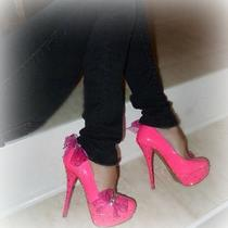 Custom  Platform  Shoes    Made With Swarovski  Elements Photo