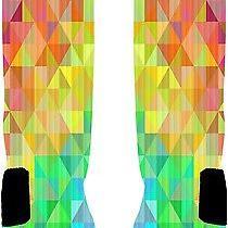 Custom Prism Socks Custom Nike Elite Socks Size Small 4-6 Photo