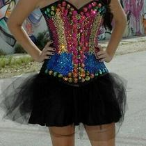 Custom Swarovski Rhinestone Corset Photo