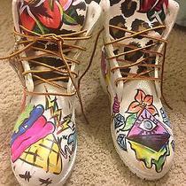 Custom Timberland Boots Size 5 Gradeschool (Youth) Photo