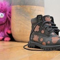 Custom Toddler Children Timberland Boots Size 4.5c Photo