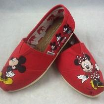 Custom Toms Shoes Disney Mickey and Minnie Mouse Photo