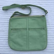 Customized Fossil Mint Green Crossbody Bag Photo