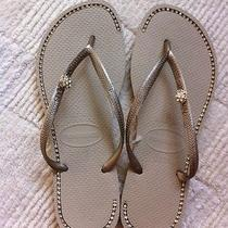 Customized Women's Havaianas Sand Size 9/10 Photo