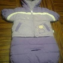 Cute 0-9mo Baby Girl Bon Bebe Warm Suit Car Seat Compatable Photo