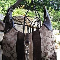 Cute Authentic Coach Hobo Purse Photo