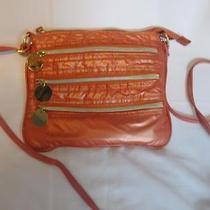 Cute Avon Shiny Dark Orange Small Crossbody/shoulder Bag/purse Lots of Pockets Photo
