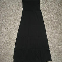 Cute Black Stretchy Strapless Dress From Gap Size Xs Nwt Photo